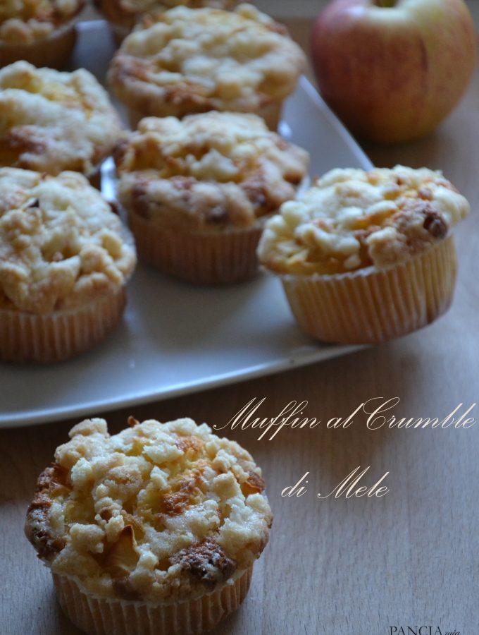 Muffin al crumble di mele