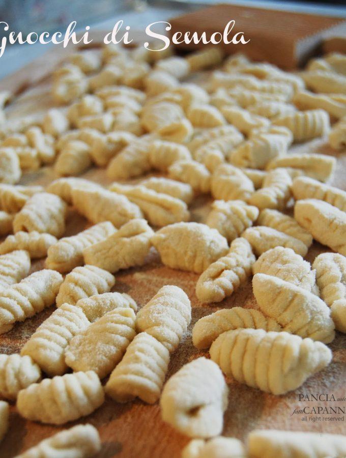 Gnocchi di semola al pomodoro