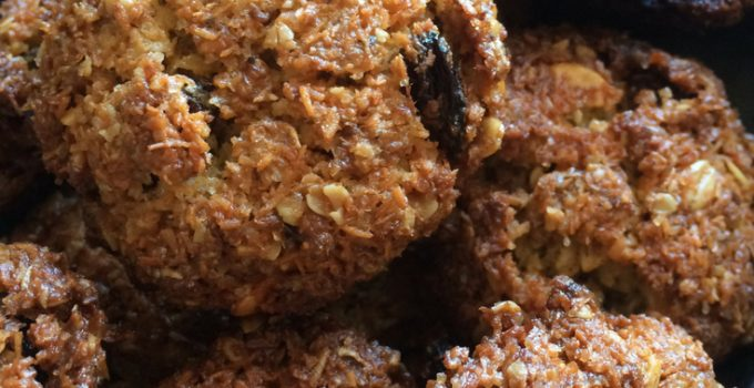 Biscotti al cocco e muesli