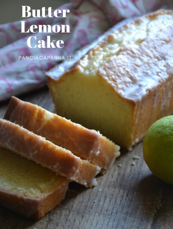 Butter lemon cake