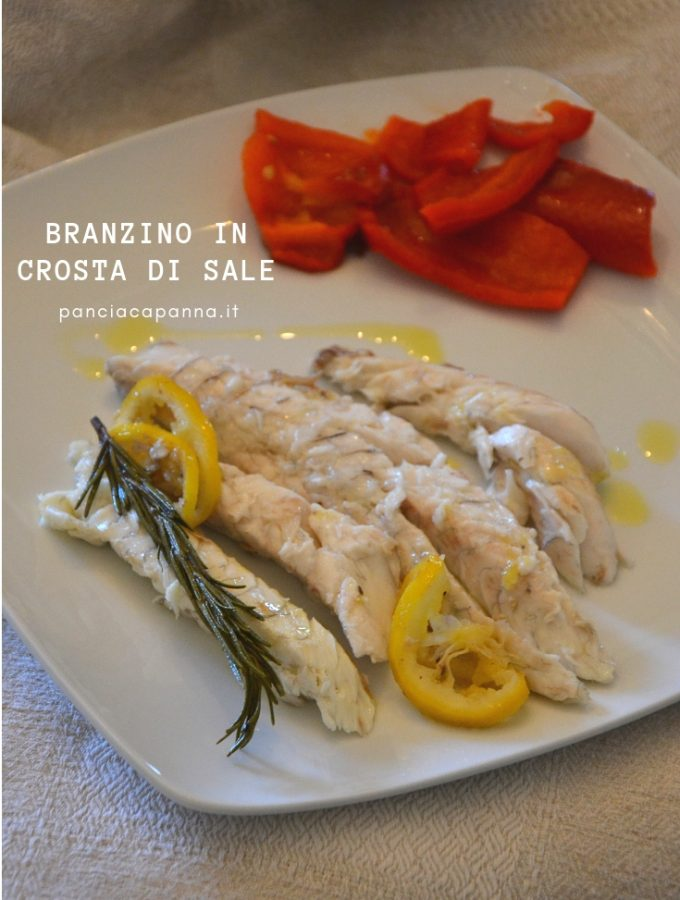 Branzino in crosta di sale