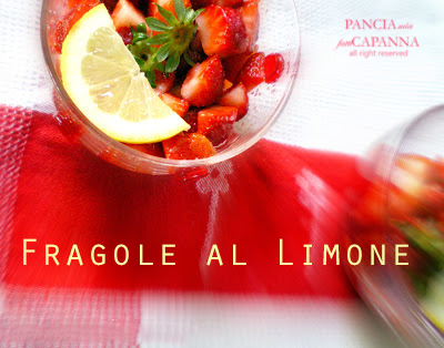 Fragole al limone