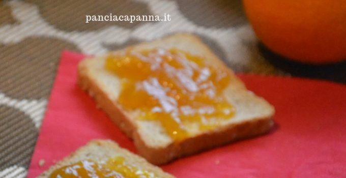 Marmellata di mele, arance e cannella
