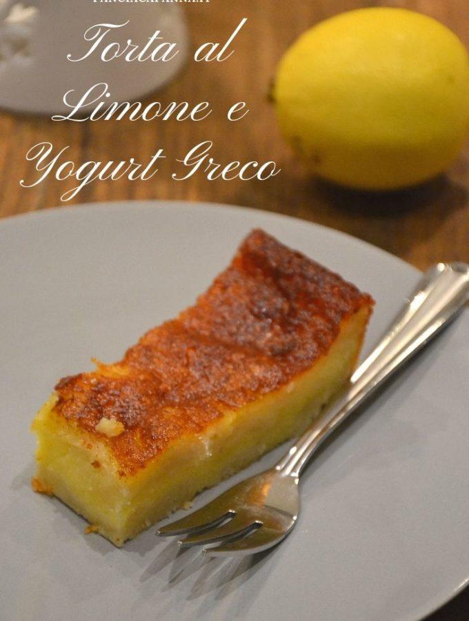 Torta al limone e yogurt greco