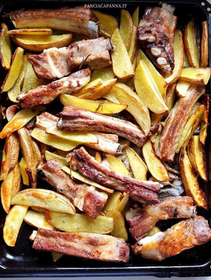 Rosticciana e patate al forno