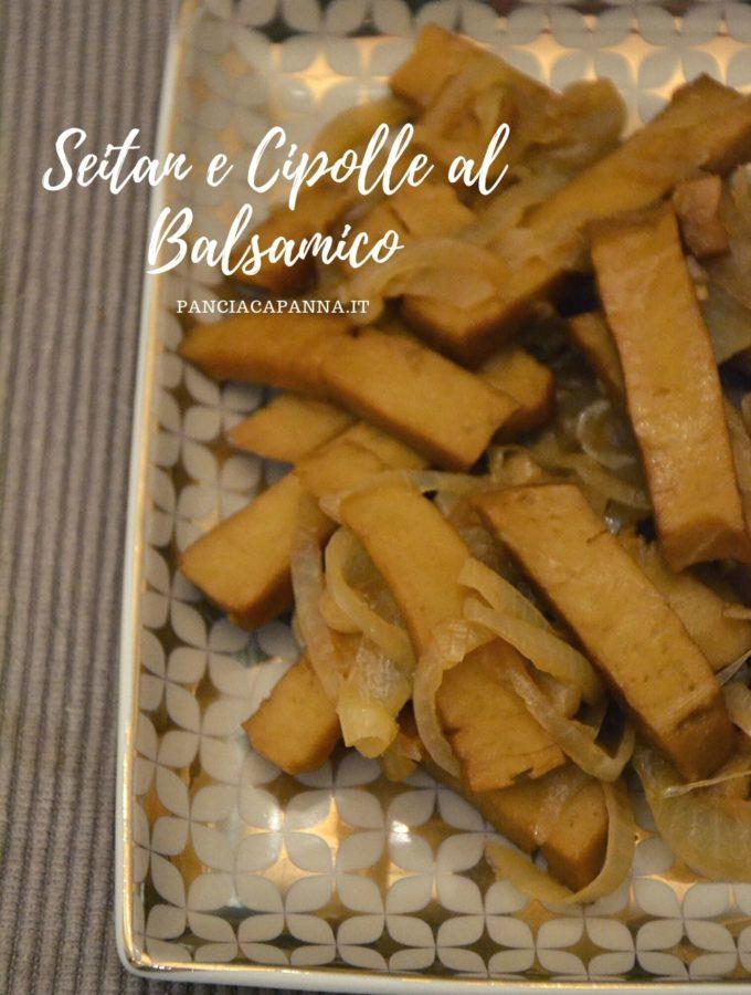Seitan e cipolle al balsamico