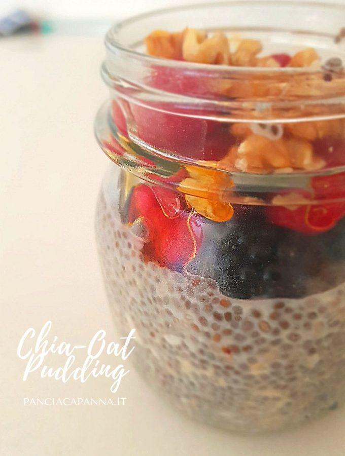 Chia-oat pudding
