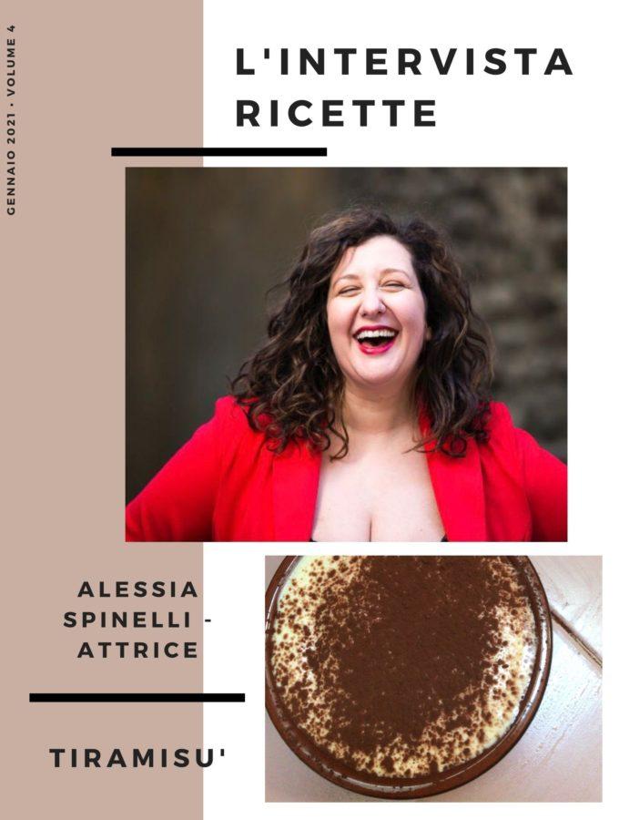 L'intervistaricette: Alessia Spinelli – Attrice