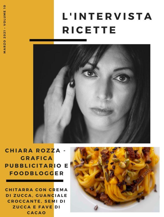 L'Intervistaricette: Chiara Rozza – Grafica pubblicitaria e foodblogger