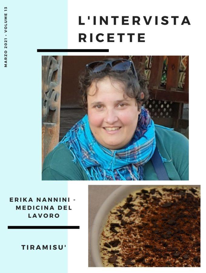 L'IntervistaRicette: Erika Nannini – Medicina del Lavoro