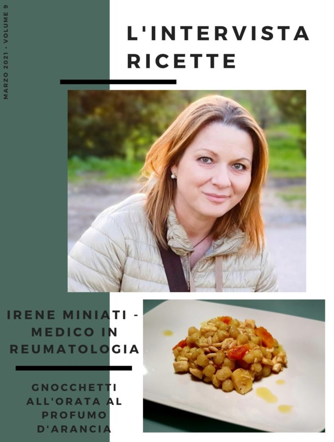 L'intervistaricette: Irene Miniati – Medico Reumatologo