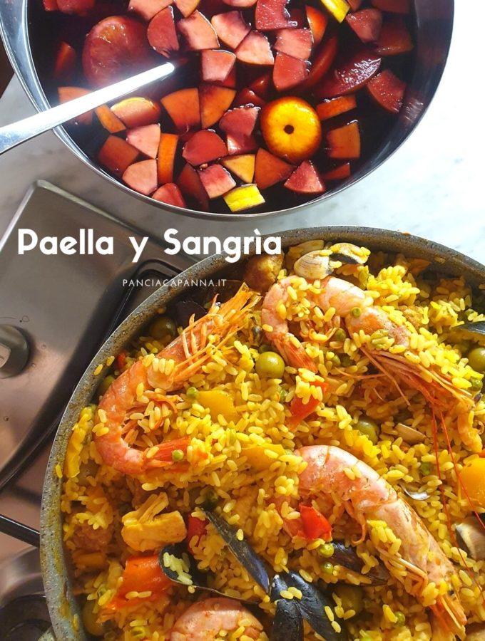 Paella y Sangrìa