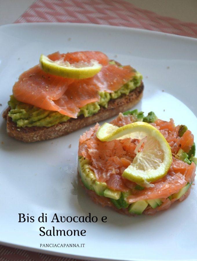 Bis di Avocado e Salmone
