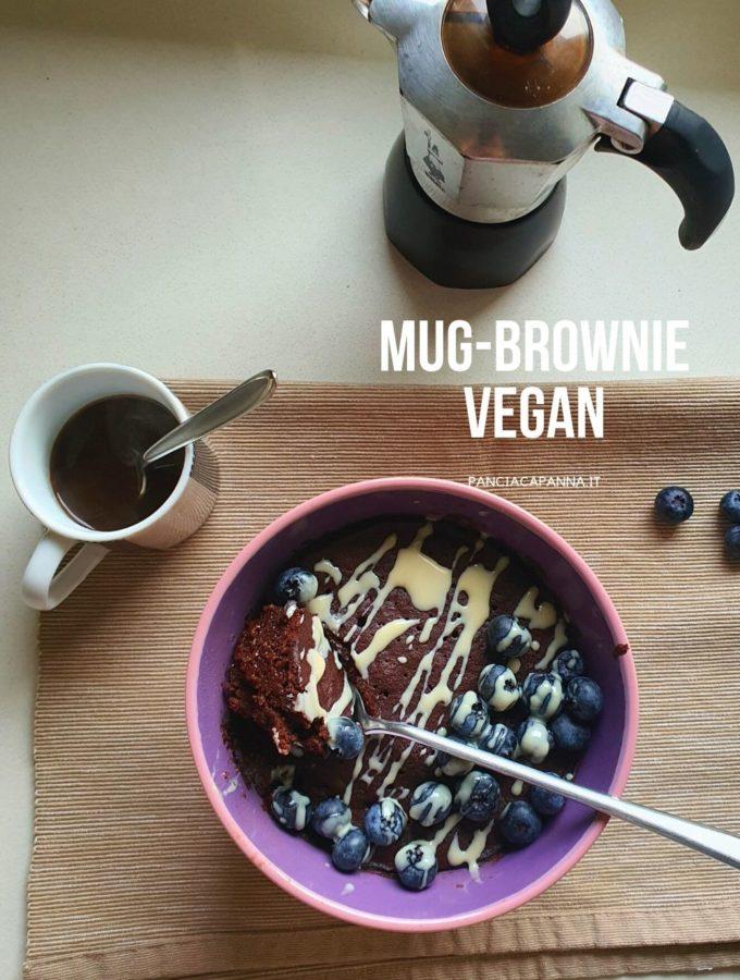 Mug-brownie Vegan